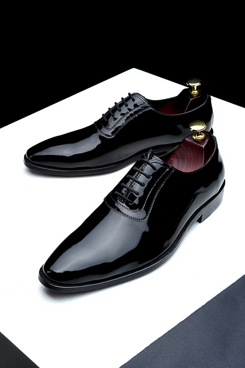 Gentlemen's black oxfords